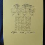 Quest for Justice  Cover for a justice booklet